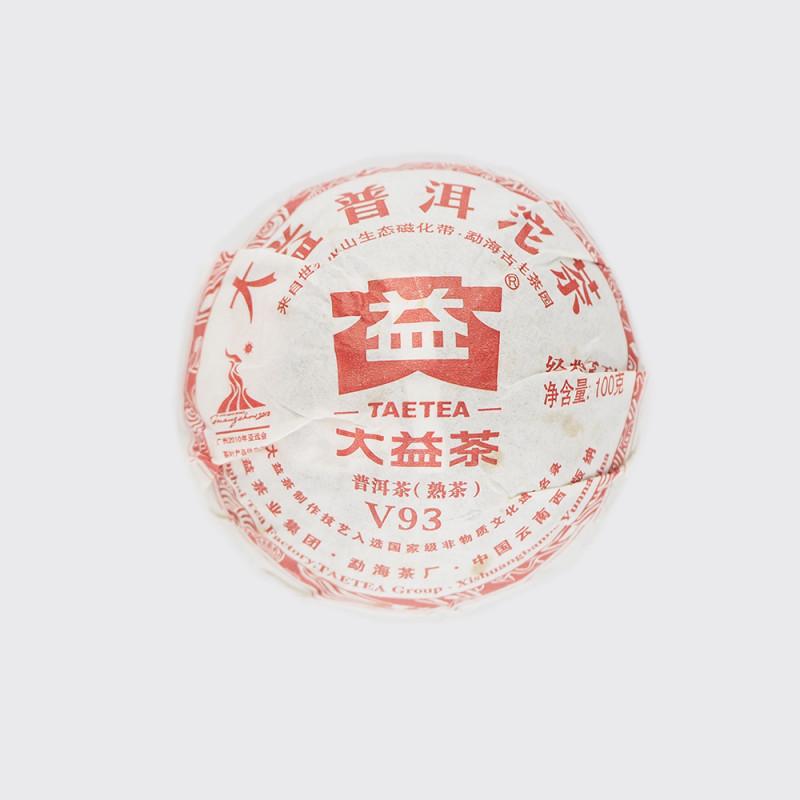Шу пуэр точа Да И V93 2010 год