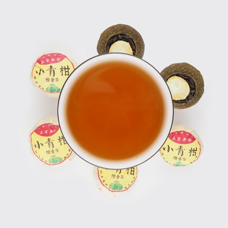 Чай Шу пуэр в лимоне