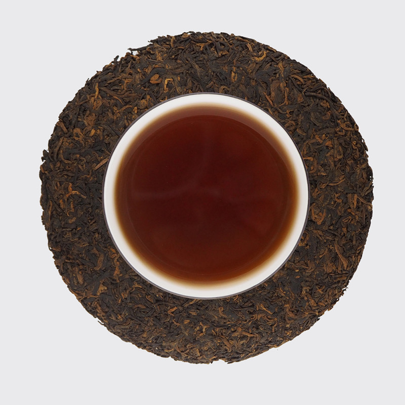 """Чай шу пуэр """"Золотая мелодия небесных почек"""""""