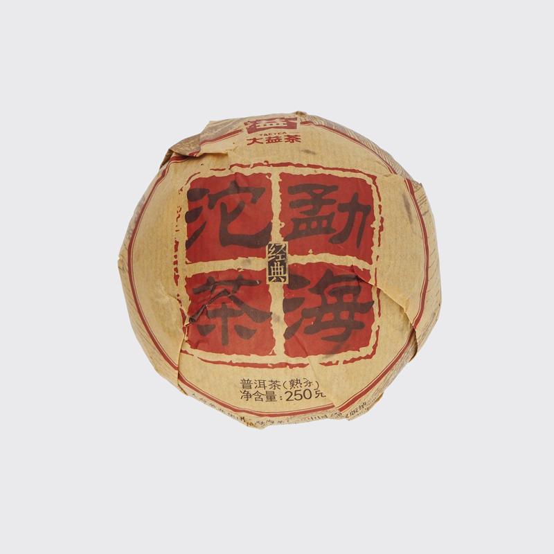 "Точа ""Мэнхай"", шу пуэр, 2015 год 250 грамм Да И | ""Чайнотека"""