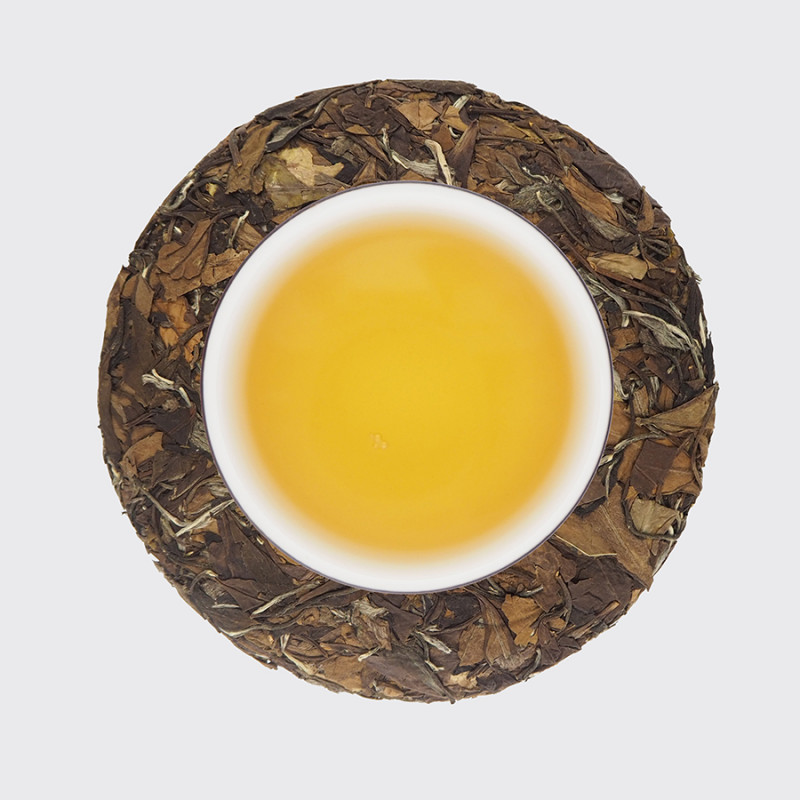 Лао Бай Ча - белый чай (фото чая и настоя)