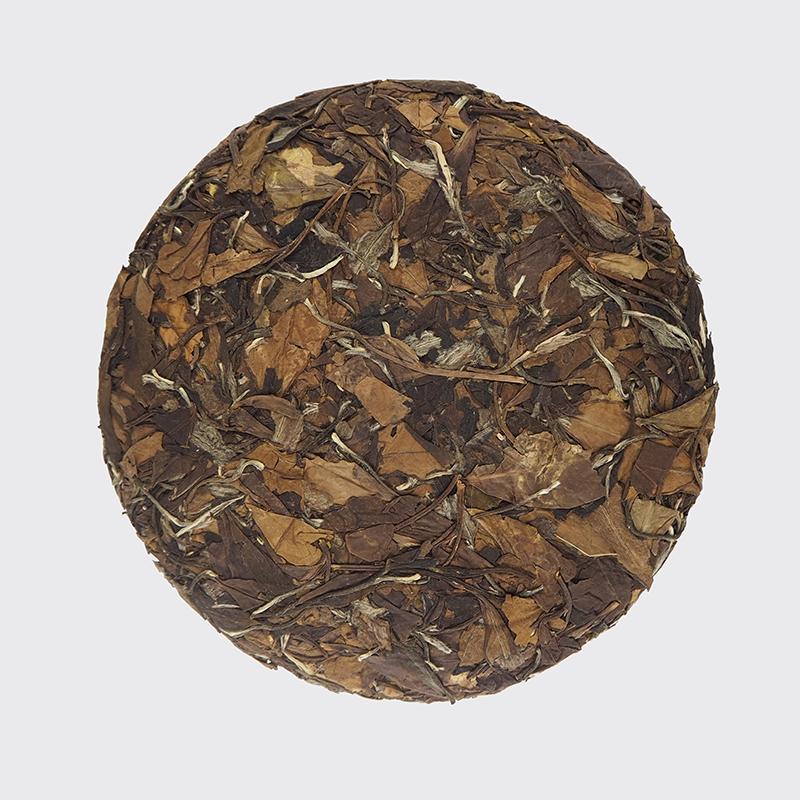 Блин выдержанного белого чая