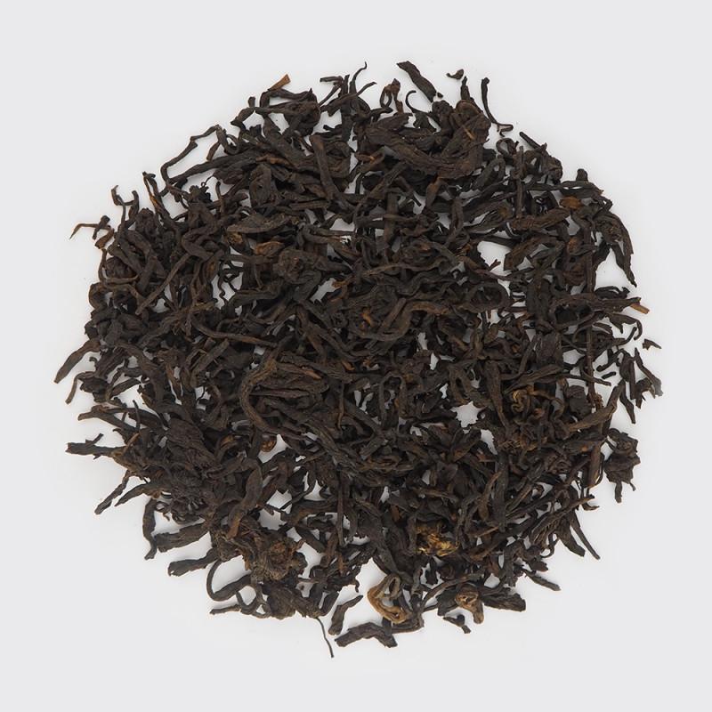Китайский постферментированный чёрный чай