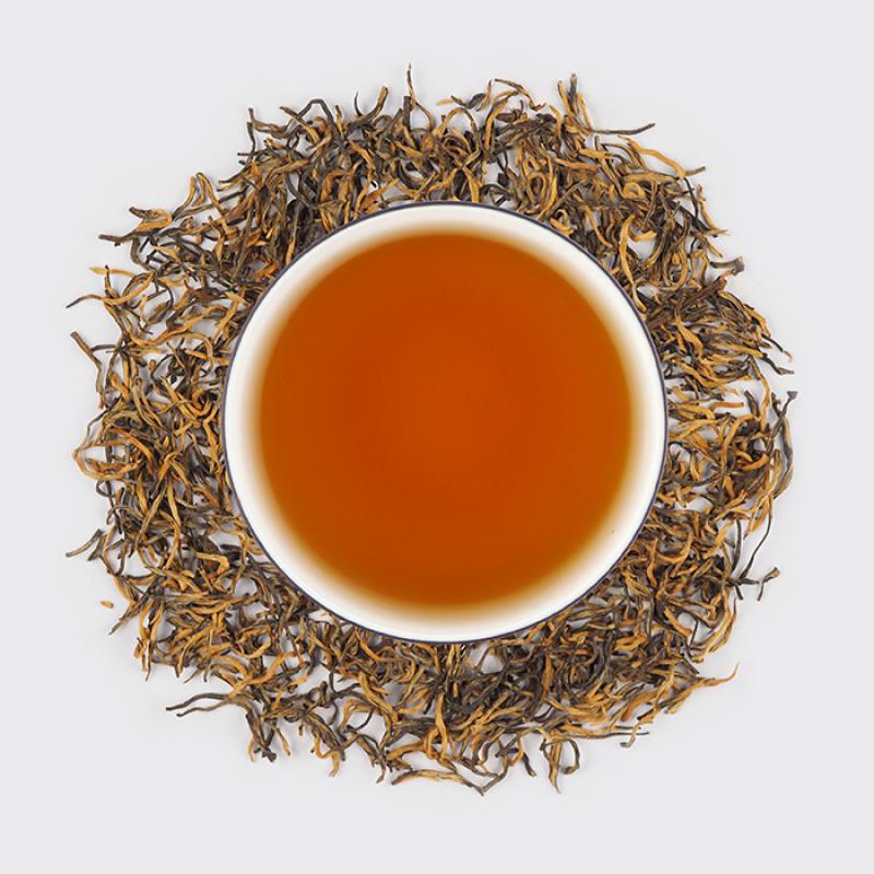 """Цзинь Цзюнь Мэй, красный чай, (""""Золотые брови""""), сбор 2019 года   """"Чайнотека"""""""