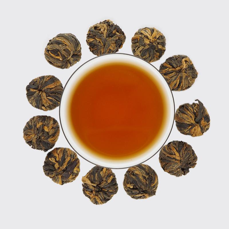 Лун Чжу - связанный чай