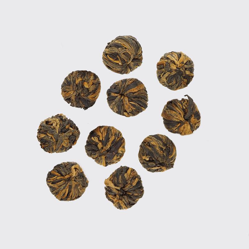 Китайский красный связанный чай