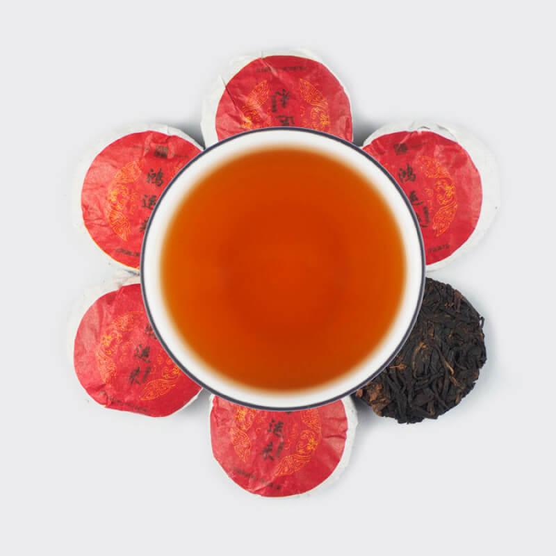 """Шай Хун в блинах   Красный китайский чай   """"Чайнотека"""""""
