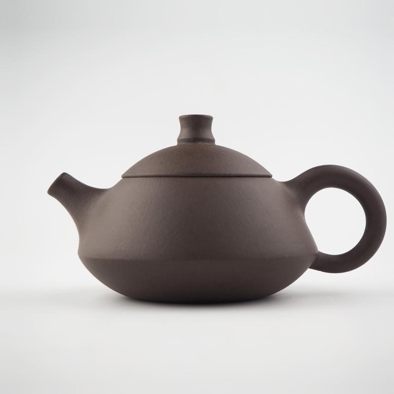 "Недорогой чайник из глины ""Сяо Хэ Хуань"" (объем 110 мл) | ""Чайнотека"""