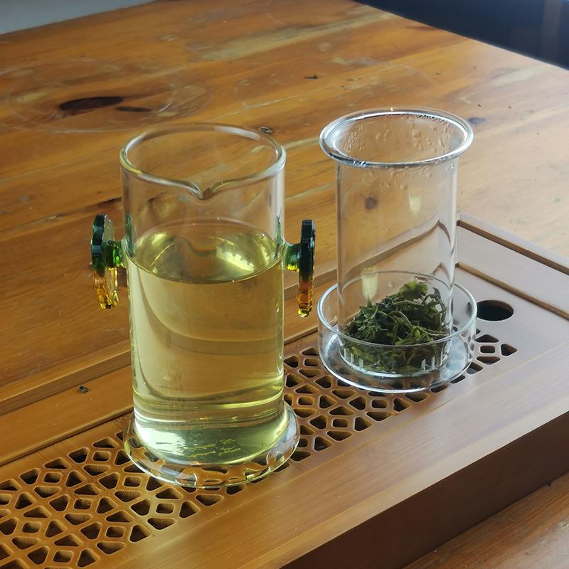 Колба стеклянная для заваривания чая