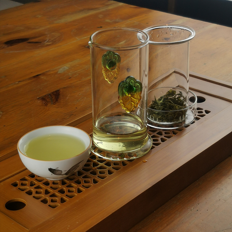 Колба для чая в разобранном виде