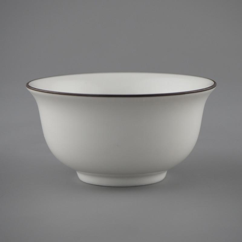 Пиала для чая белая объемом 30 мл