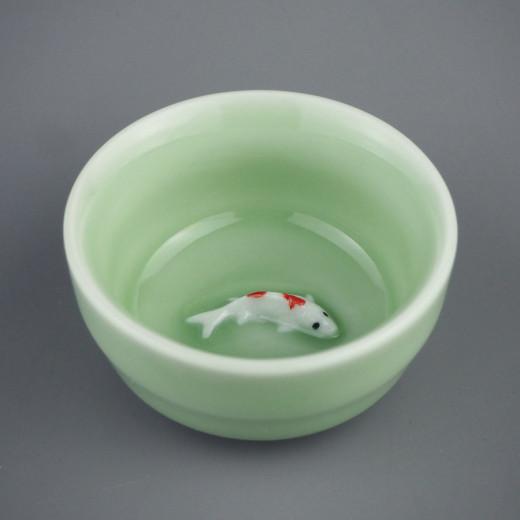 """Пиала """"Green fish"""""""