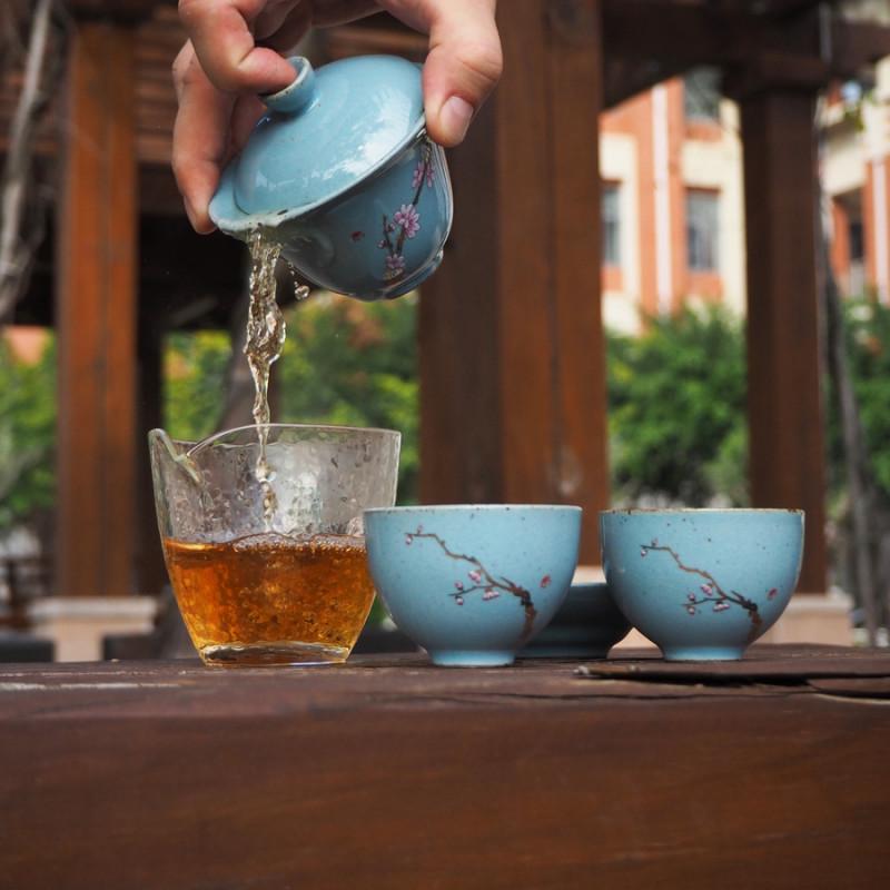 Как пользоваться гайванью - фото заваривания чая