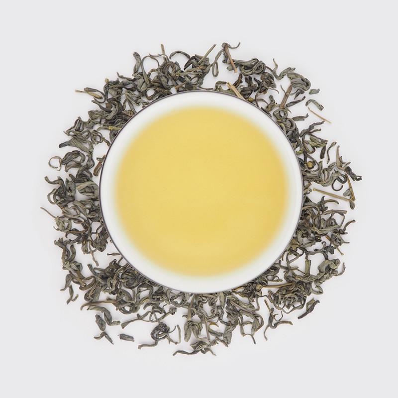 Фото Жареный чай из Цзеяна